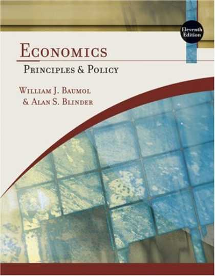 Economics Books - Economics: Principles and Policy
