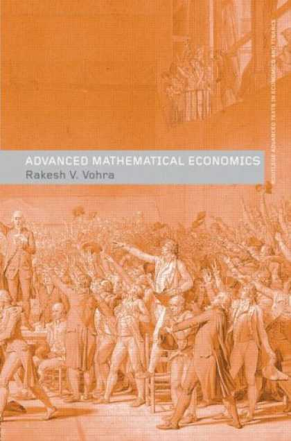 Economics Books - Advanced Mathematical Economics (Routledge Advanced Texts in Economics and Finan