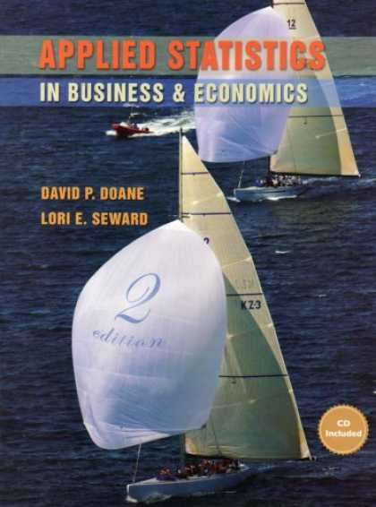 Economics Books - Applied Statistics in Business and Economics