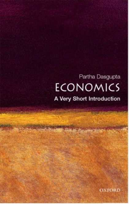Economics Books - Economics: A Very Short Introduction (Very Short Introductions)