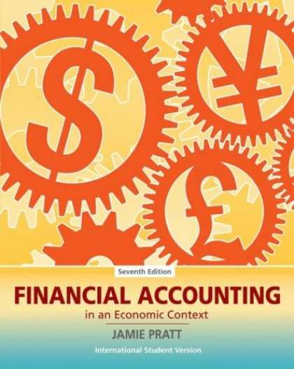 Economics Books - Financial Accounting in an Economic Context. Jamie Pratt