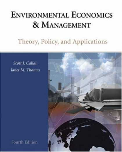 Economics Books - Environmental Economics and Management: Theory, Policy and Applications