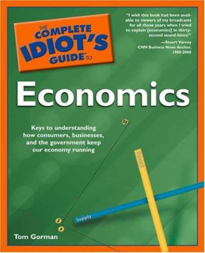 Economics Books - The Complete Idiot's Guide to Economics