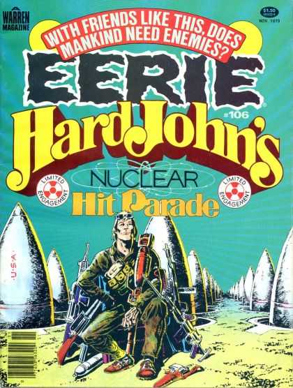 Eerie 106 - Mankind Need Enemies - Hard Johns - Nuclear - Hit Parade - Warren - Walter Simonson