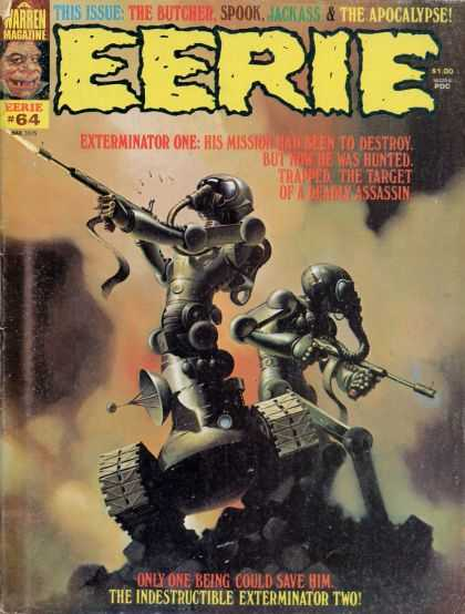 Eerie 64 - The Butcher - Warren Magazine - Spook - Jackass - Apocalypse