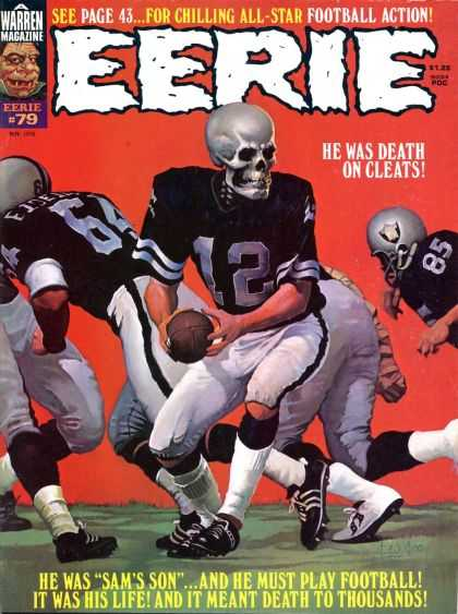 Eerie 79 - Chilling - All-star - Football - Action - Death