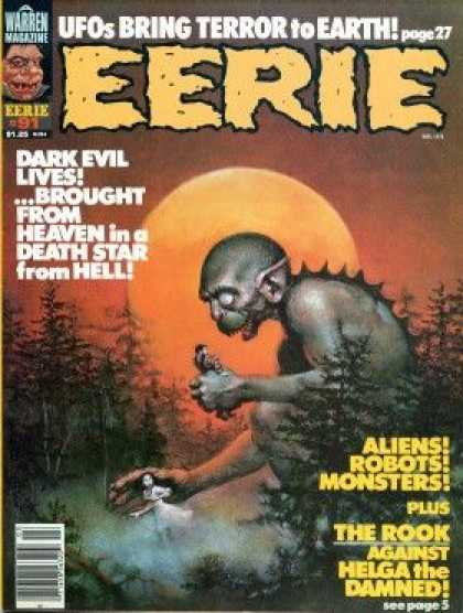 Eerie 91 - Ufos Bring Terror To Earth - Dark Evil - Heaven - Death Star - Hell