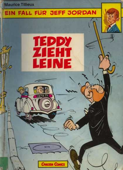 Ein Fall Fuer Jeff Jordan 1 - Maurice Tilleux - Ein Fall Fur Jeff Jordan - Carlsten Comics - Car - Road
