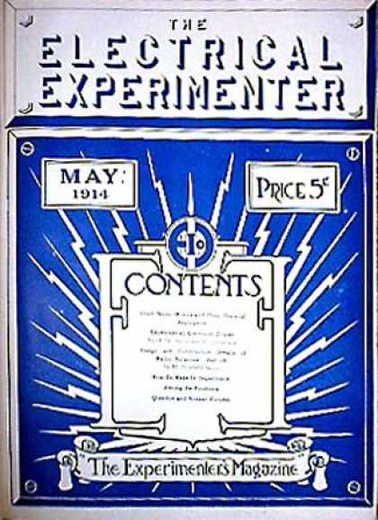 Electrical Experimenter - 5/1914