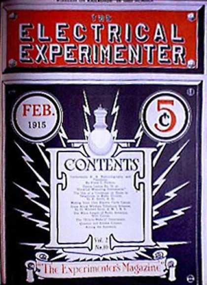 Electrical Experimenter - 2/1915