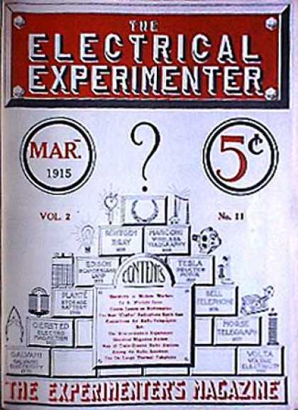 Electrical Experimenter - 3/1915