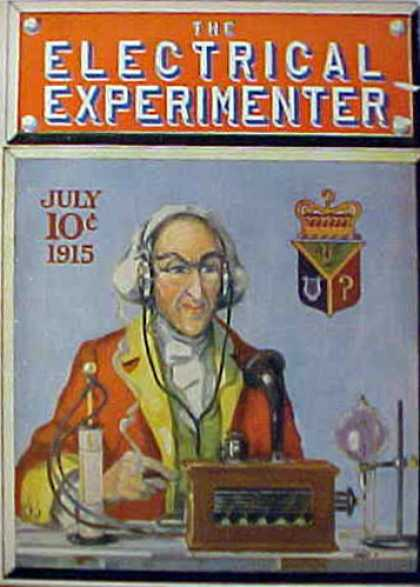 Electrical Experimenter - 7/1915