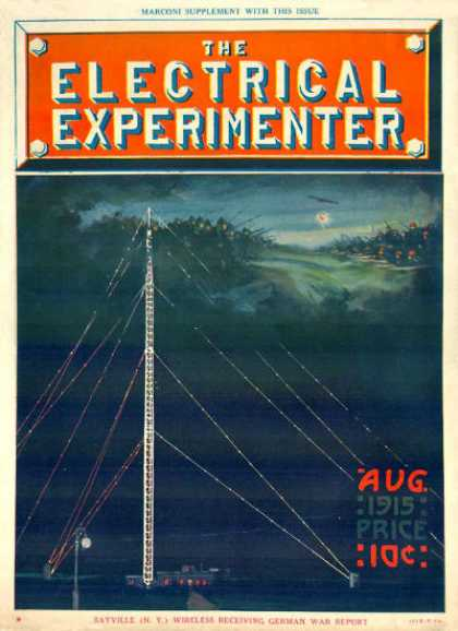 Electrical Experimenter - 8/1915
