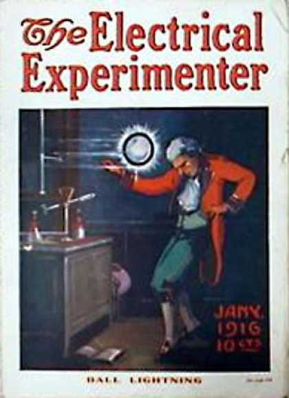 Electrical Experimenter - 1/1916