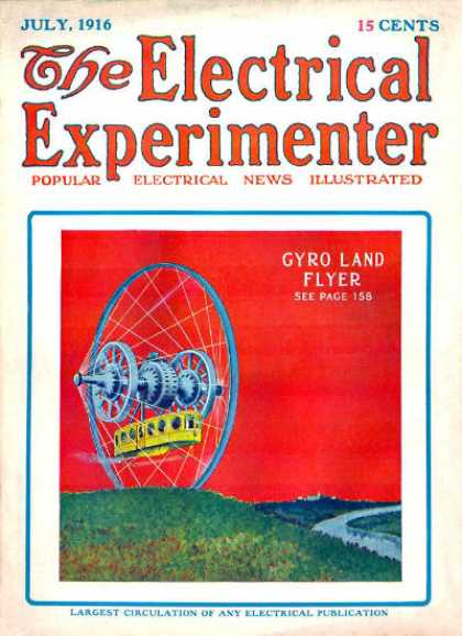Electrical Experimenter - 7/1916