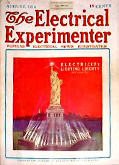 Electrical Experimenter - 8/1916