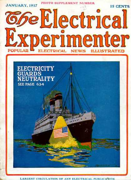 Electrical Experimenter - 1/1917