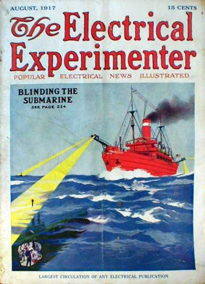 Electrical Experimenter - 8/1917