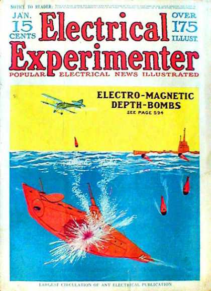 Electrical Experimenter - 1/1918