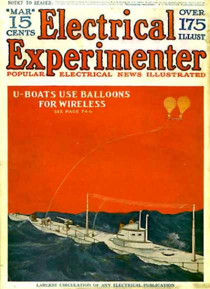 Electrical Experimenter - 3/1918