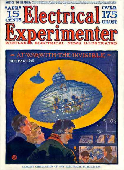 Electrical Experimenter - 4/1918