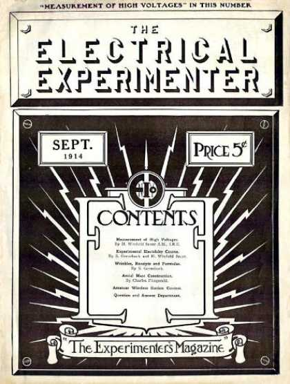 Electrical Experimenter - 9/1914