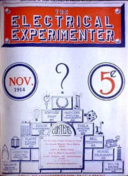 Electrical Experimenter - 11/1914