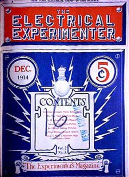 Electrical Experimenter - 12/1914
