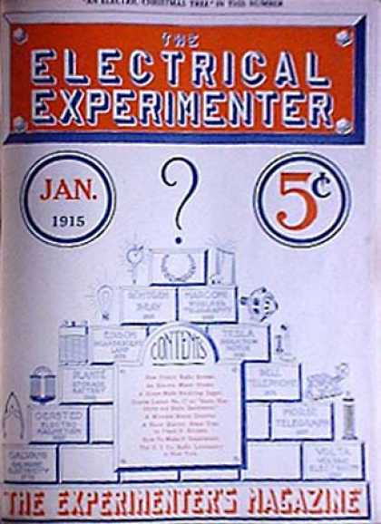 Electrical Experimenter - 1/1915