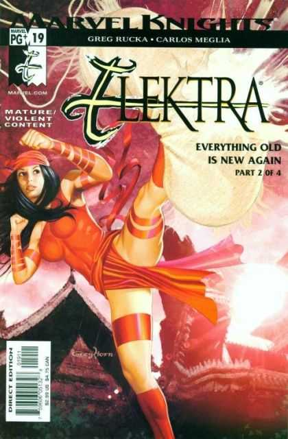 Elektra 19 - Marvel Knights - Woman - Mature - Everything Old Is New Again - Direct Edition - Greg Horn