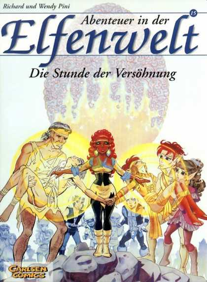 Elfenwelt 15 - Richard Pini - Wendy Pini - Man - Woman - Carlsen Comics