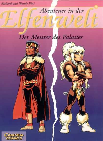 Elfenwelt 16 - Carlsen Comics - Meister And Palastes - Adventures Of Meister - Adventures Of Palastes - Richard Comics