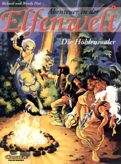 Elfenwelt 4 - Forest - Attack - Fire - Wild Animals - Bravery