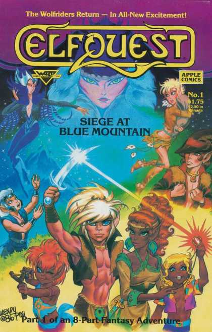 Elfquest: Siege at Blue Mountain 1