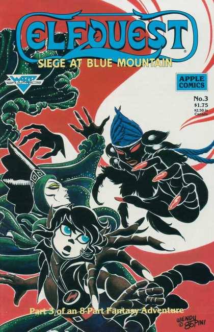 Elfquest: Siege at Blue Mountain 3 - Elfquest - Siege - Spider - Apple - Fantasy
