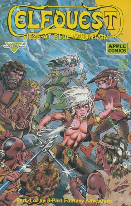 Elfquest: Siege at Blue Mountain 4 - Wendy Pini