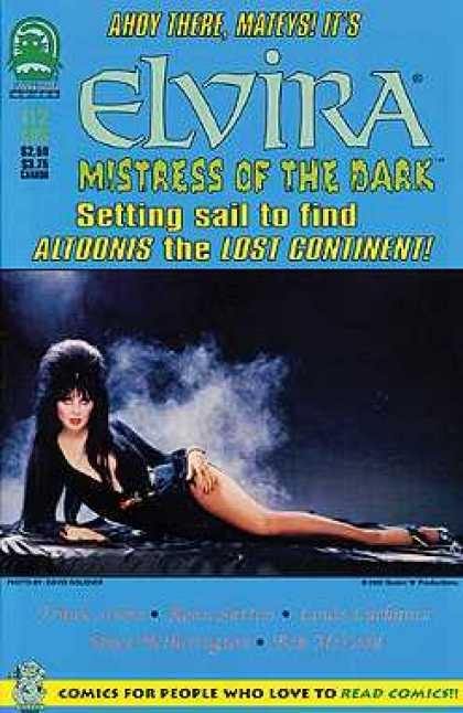 Elvira 112 - Altoonis - Lost Continent - Leg - Black Hair - Red Lipstick