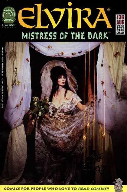 Elvira 136 - Mistress Of The Dark - Vampire - Dress - Wedding - Old