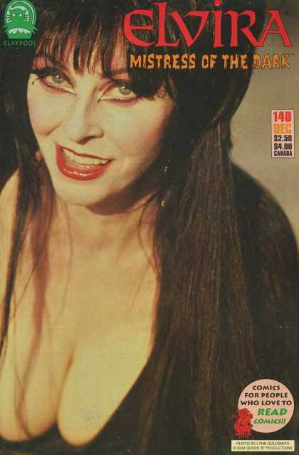 Elvira 140 - Mistress Of The Dark - Hair - Lips - Eyes