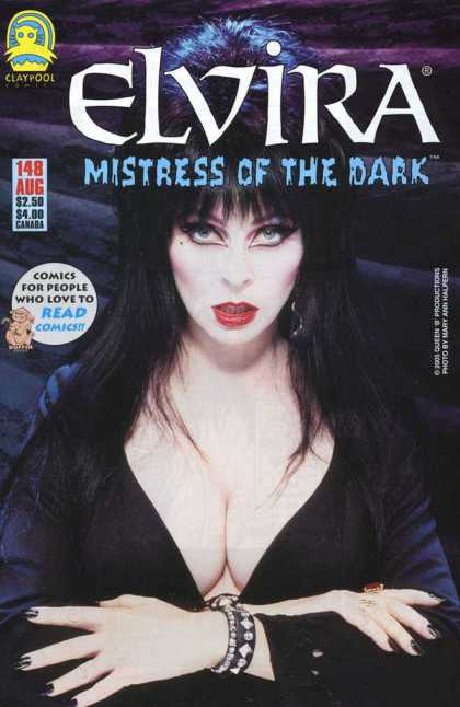 Elvira 148 - Mistress Of Darkness - Goth - Blue Eyes - Big Hair - 1980s