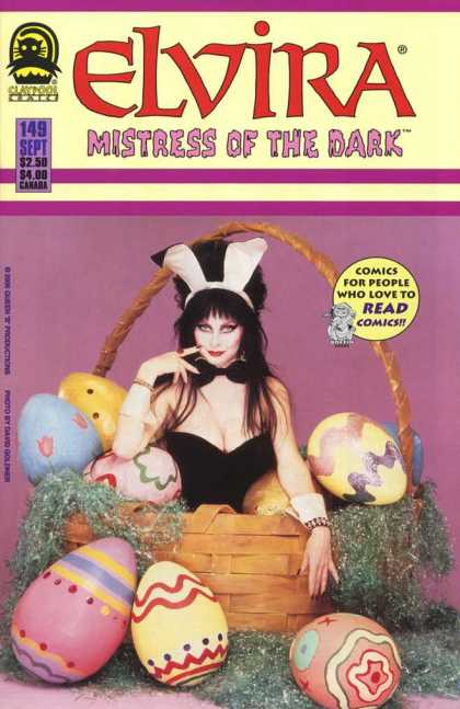 Elvira 149 - Easter - Bunny - Eggs - Basket - Playboy
