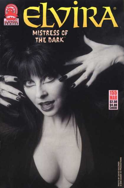 Elvira 155 - Woman - Fingernails - Bangs - Cleavage - Black