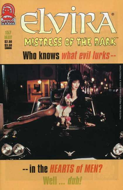 Elvira 157 - Mistress Of The Dark - Evil - Dog - Car - Hearts Of Men