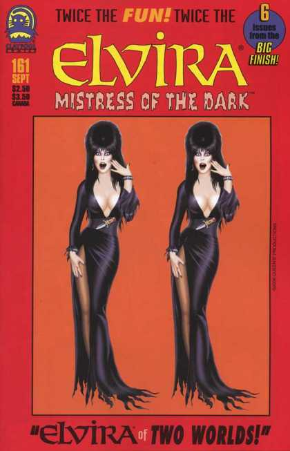 Elvira 161 - Mistress - Dark - Two Worlds - Dagger - Black Dress