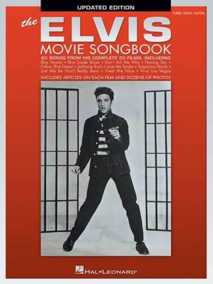 Elvis Presley Books - The Elvis Movie Songbook - Updated Edition