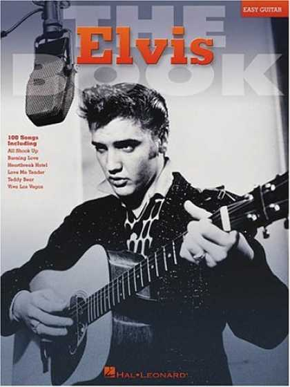 Elvis Presley Books - The Elvis Book (Easy guitar)