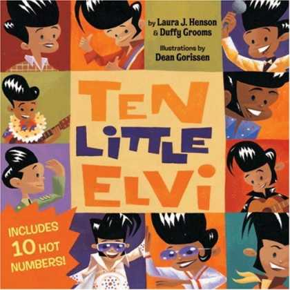 Elvis Presley Books - Ten Little Elvi