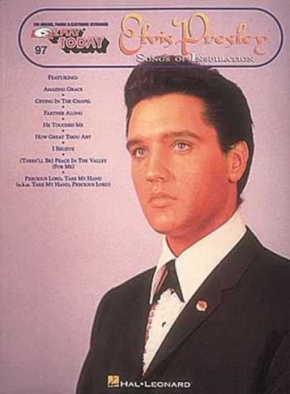 Elvis Presley Books - Elvis Presley - Songs of Inspiration: E-Z Play Today Volume 97