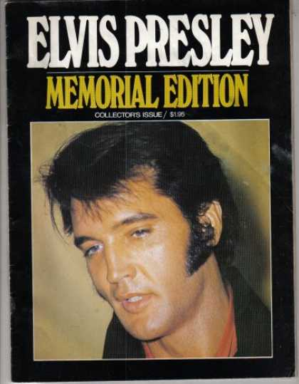 Elvis Presley Books - Elvis Presley Memorial Edition, Magazine (Collector's Issue #3)