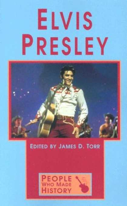 Elvis Presley Books - People Who Made History - Elvis Presley (paperback edition)